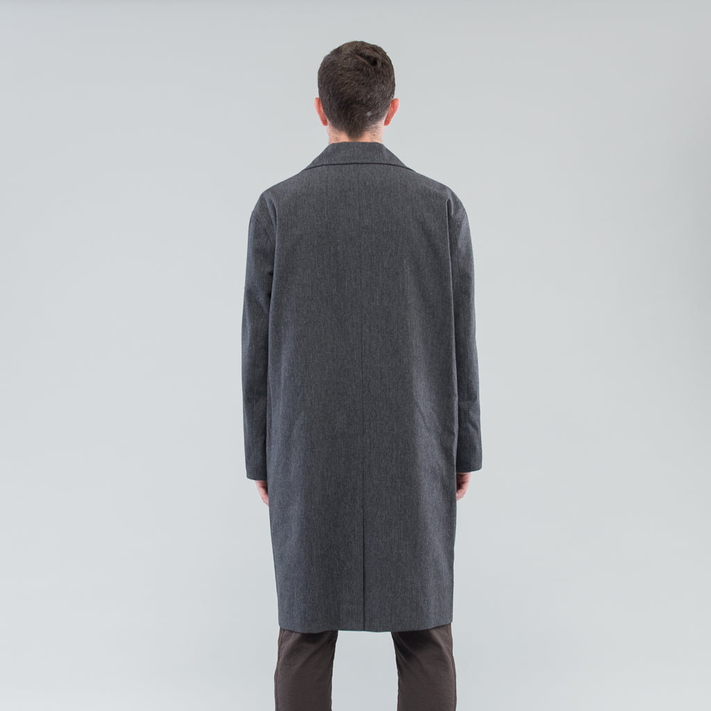 THE MARCEL COAT - FOG