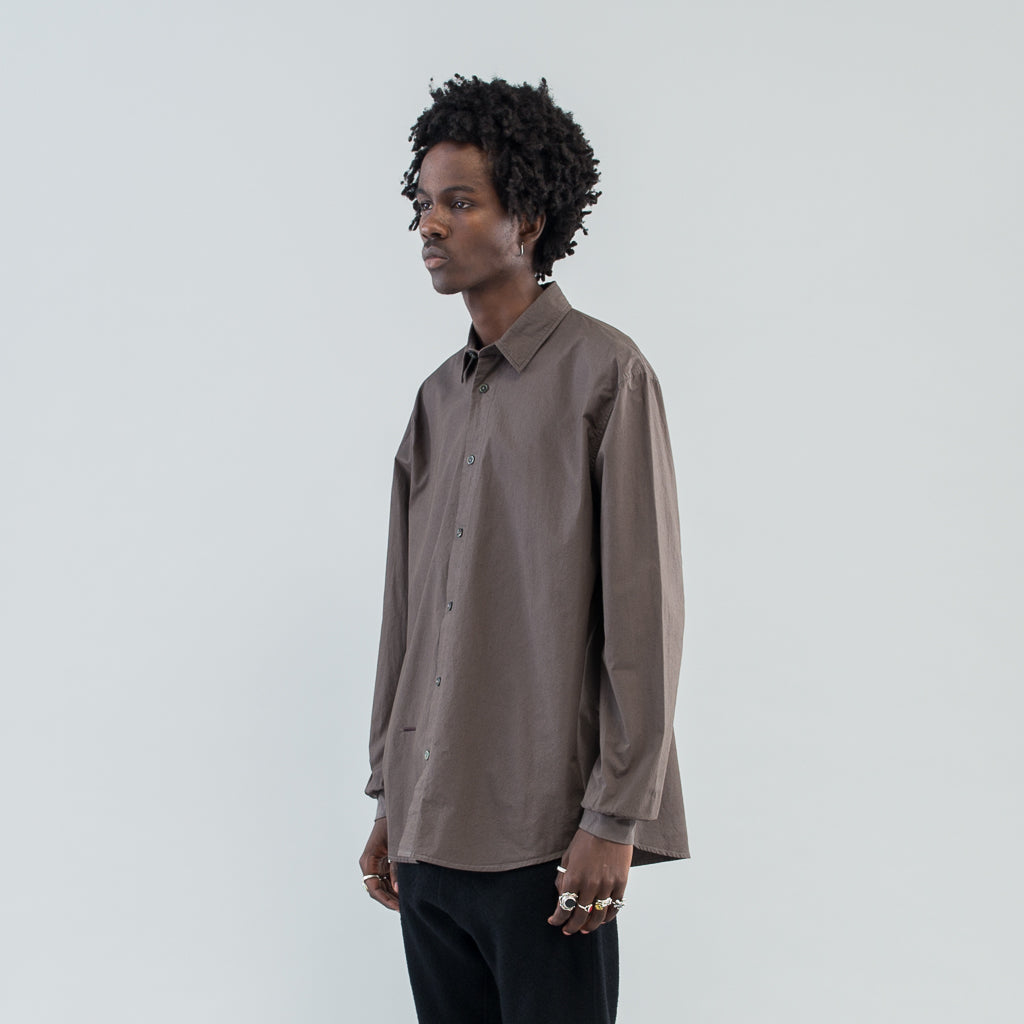 THE PHILIPPE DRESS SHIRT - CHARCOAL