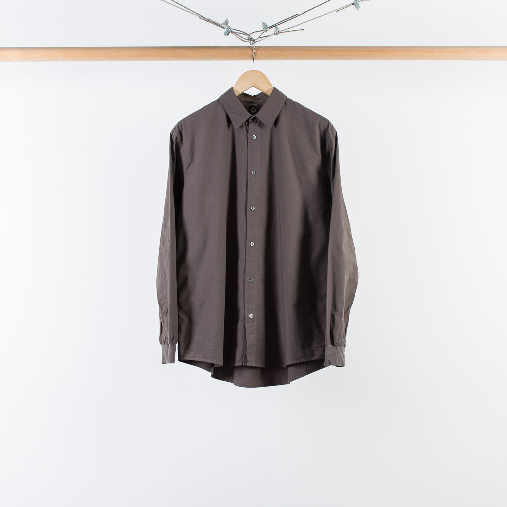 THE PHILIPPE DRESS SHIRT CHARCOAL