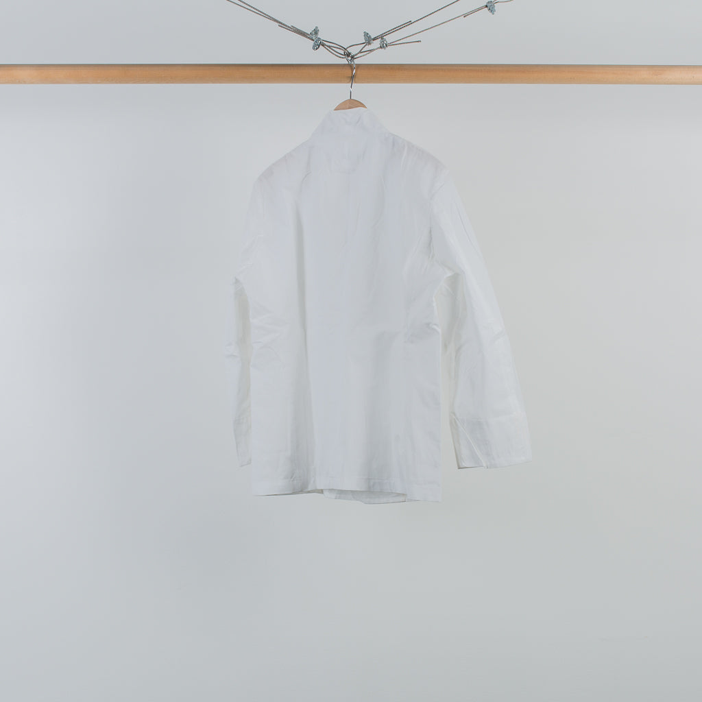 ARCHIVE SALE - SASQUATCHFABRIX - HANERI RAPEL JACKET WHITE