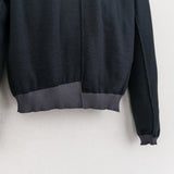 KNIT CREWNECK SWEATER - CHARCOAL