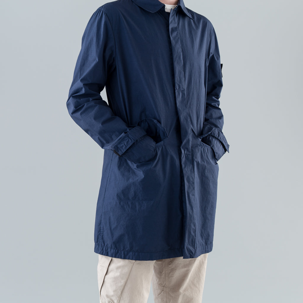 CAR COAT (NASLAN LIGHT WATRO) - MARINE BLUE