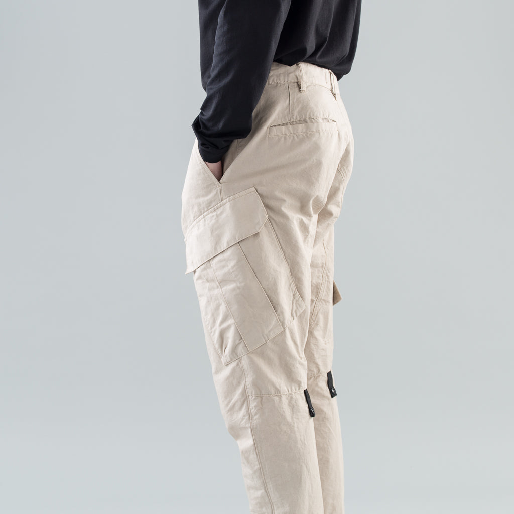 ARTICULATED CARGO PANTS - SAND