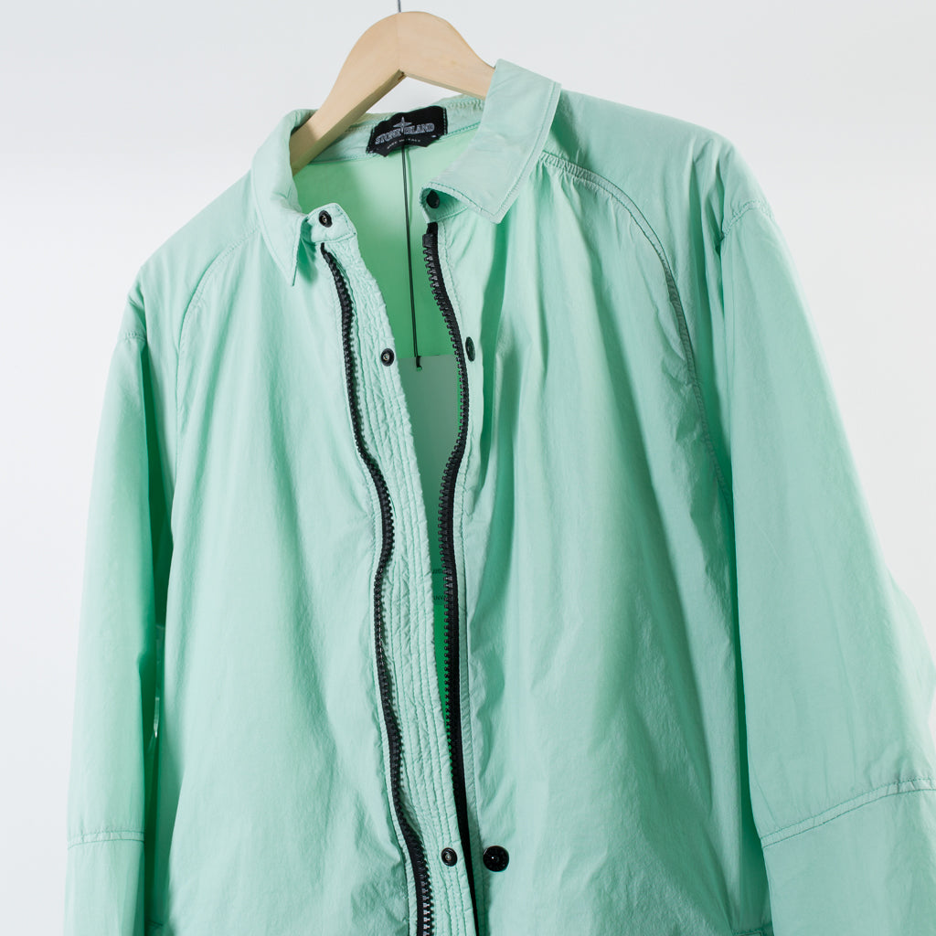 ARCHIVE SALE - STONE ISLAND SHADOW PROJECT - COACH JACKET MAKO GREEN