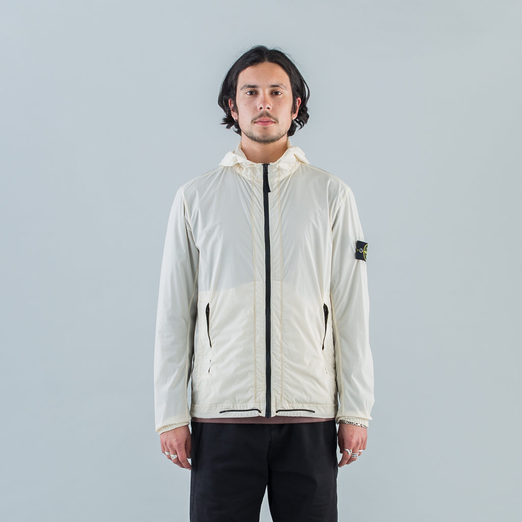 SKIN TOUCH NYLON-TC JACKET - BEIGE