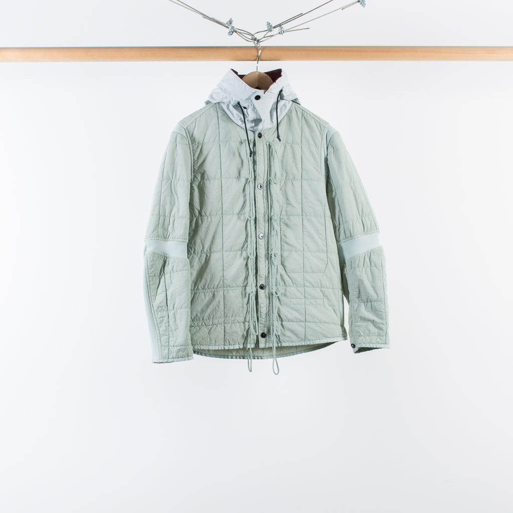 ARCHIVE SALE - STONE ISLAND - TELA PLACCATA BICOLORE FIELD JACKET