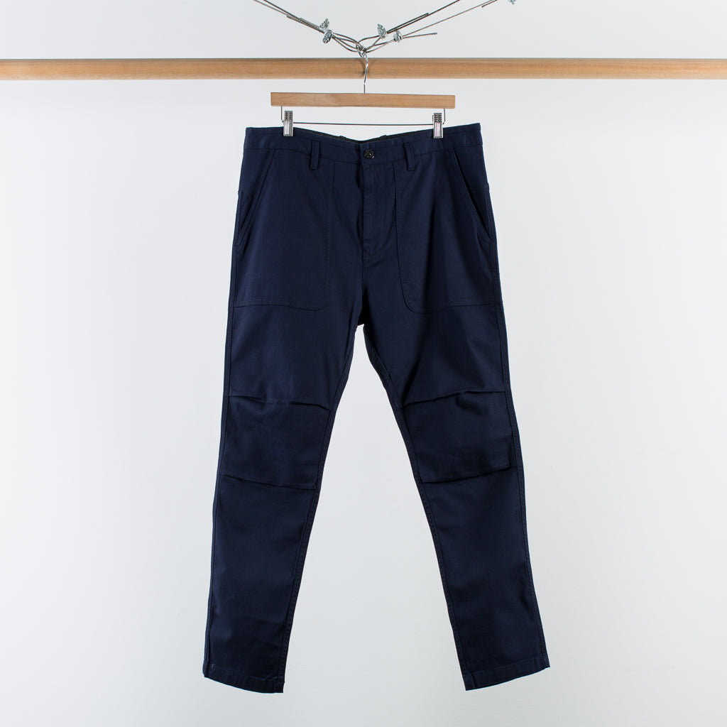 ARCHIVE SALE - STONE ISLAND - TWILL WORK PANTS INK