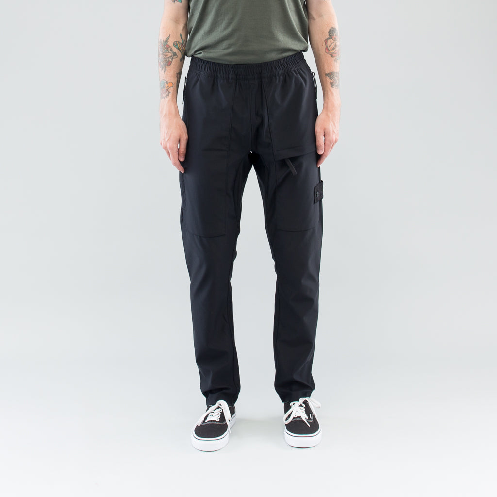 GHOST 3L CARGO PANTS - BLACK