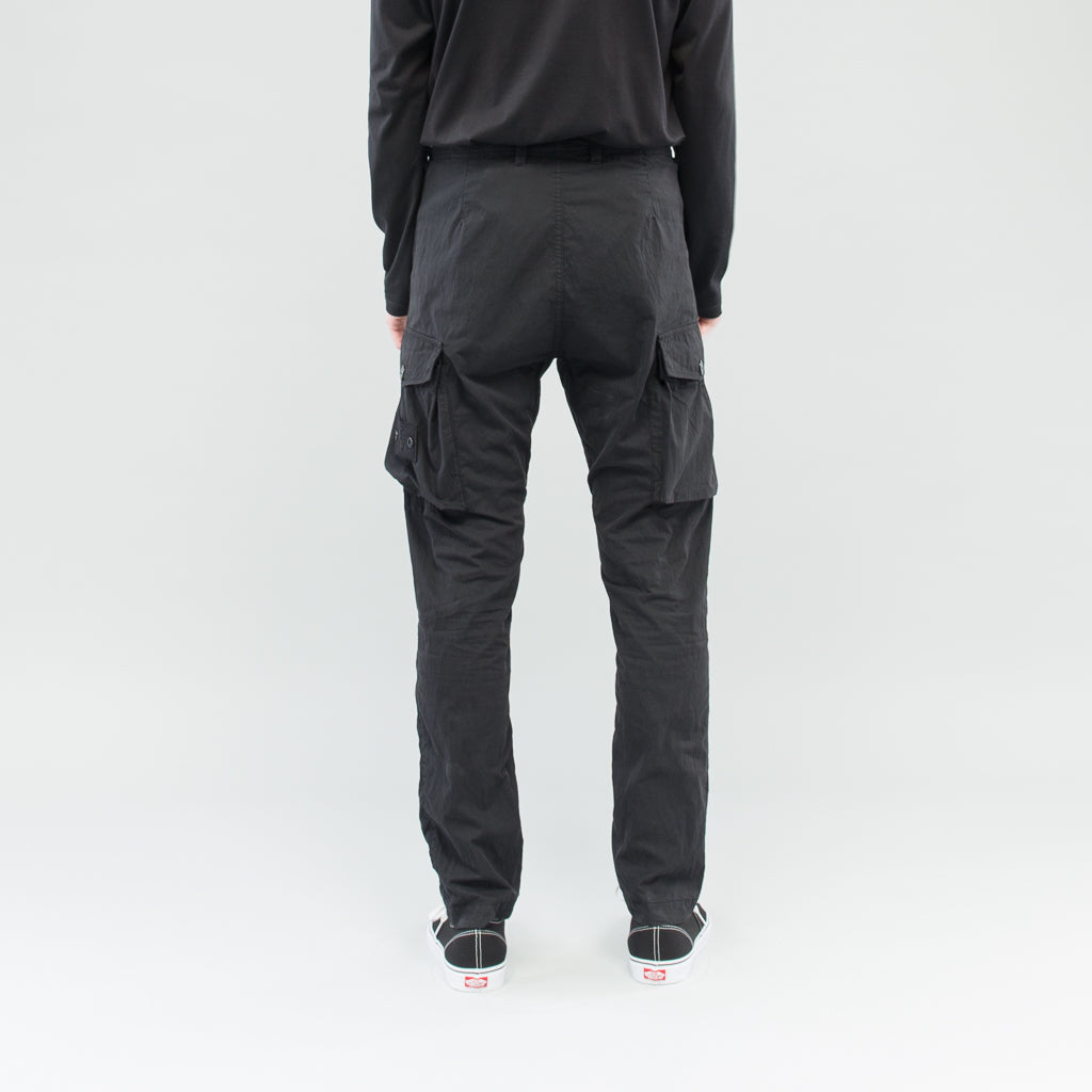 GHOST CARGO PANTS - BLACK