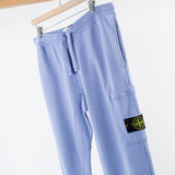 ARCHIVE SALE - STONE ISLAND - SLIM POCKET FLEECE PANTS LAVENDER