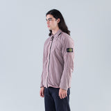 NYLON METAL OVERSHIRT - ROSE QUARTZ