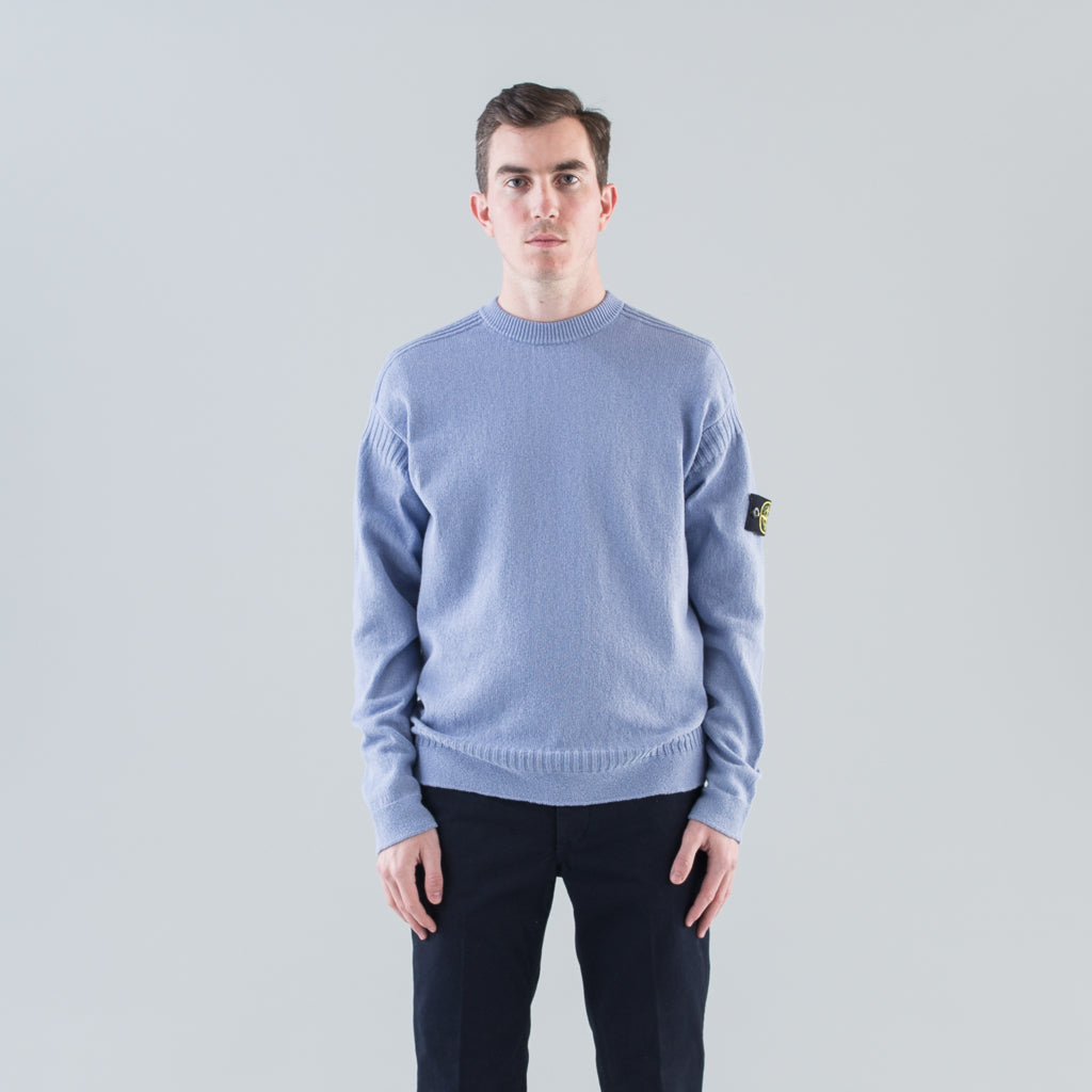 RIBBED COTTON SWEATER - LAVENDER