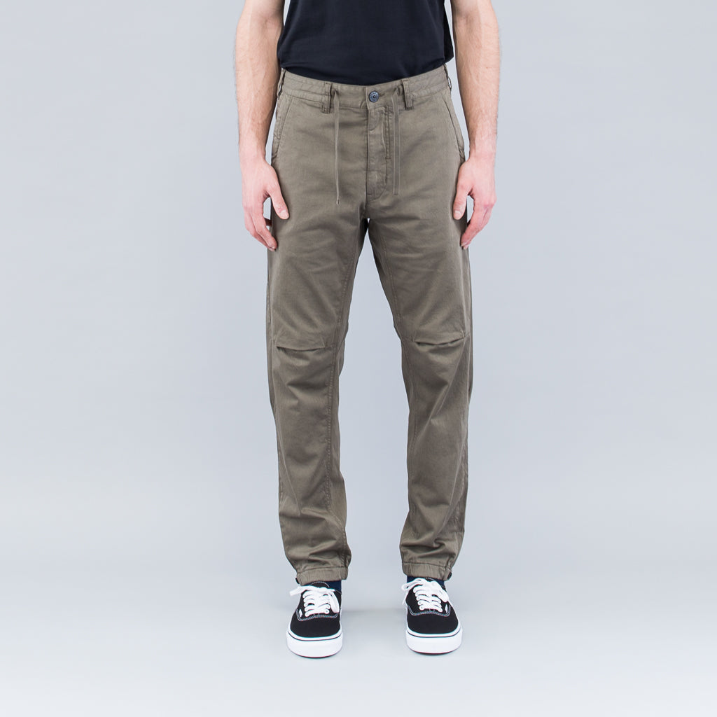 ARTICULATED PANTS - OLIVE
