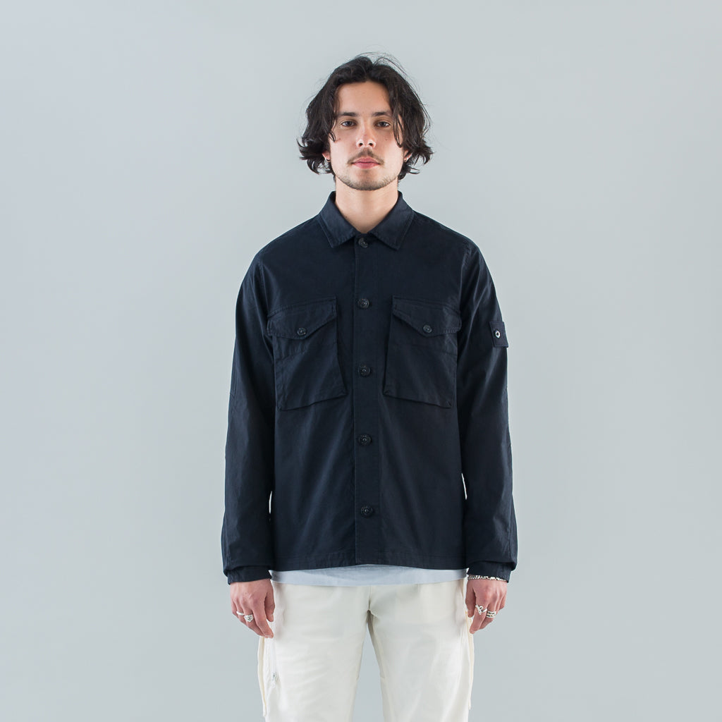 GHOST OVERSHIRT - NAVY