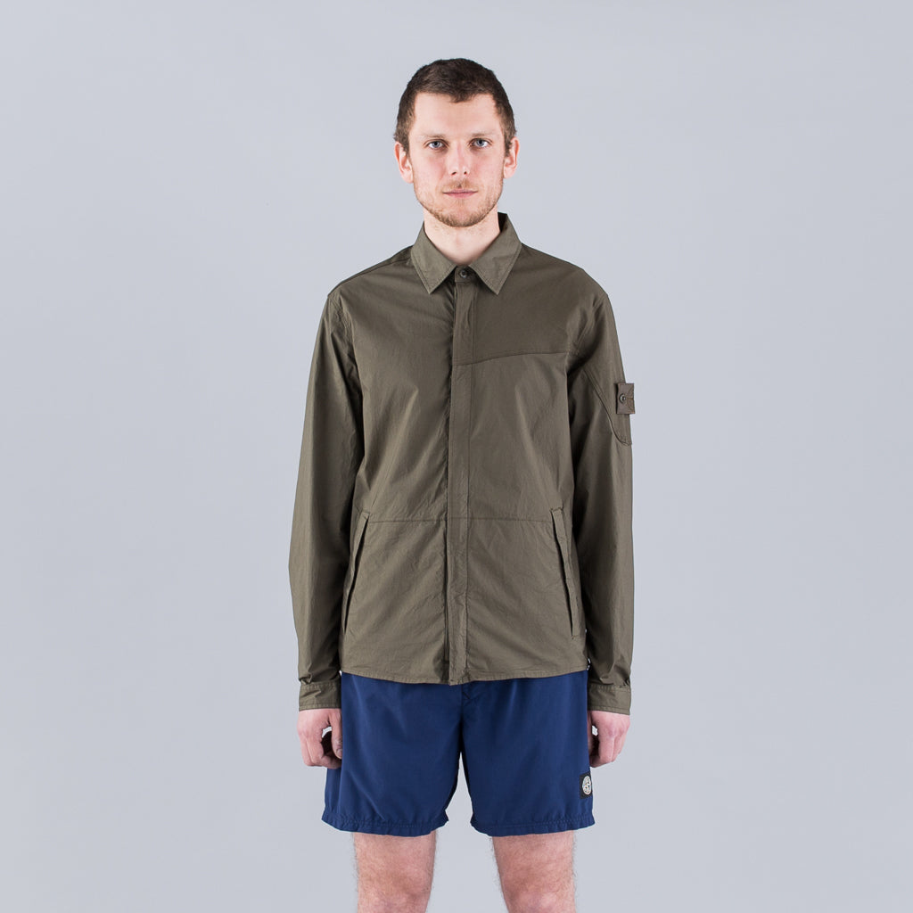 GHOST SHIRT JACKET - MILITARY GREEN