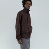 HARRINGTON JACKET - DARK BROWN