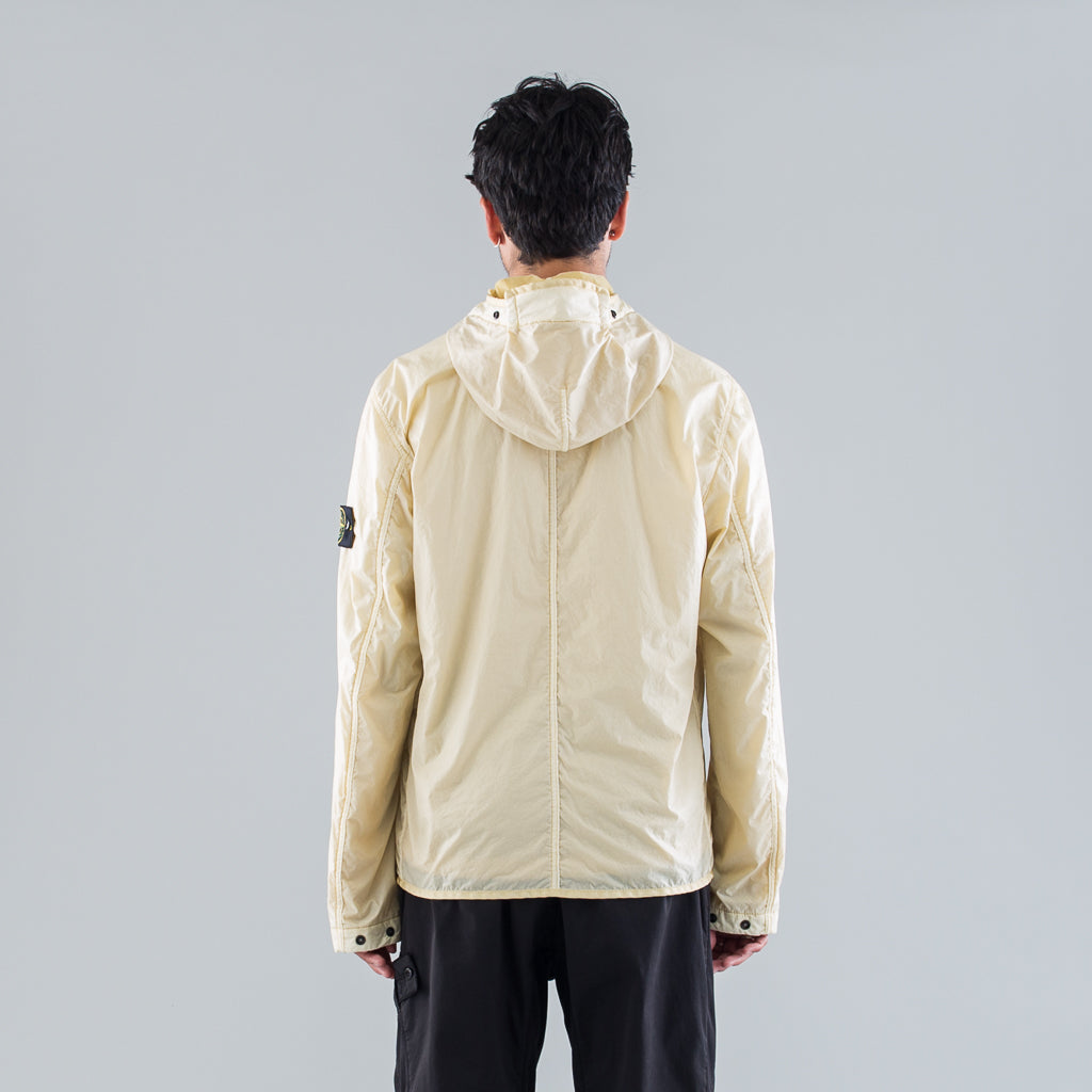 LAMY FLOCK HOODED JACKET - NATURAL BEIGE