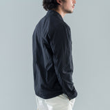 NASLAN LIGHT OVERSHIRT - BLACK