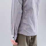 NYLON METAL SHIRT JACKET - LAVENDER