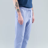 SLIM POCKET FLEECE PANTS - LAVENDER