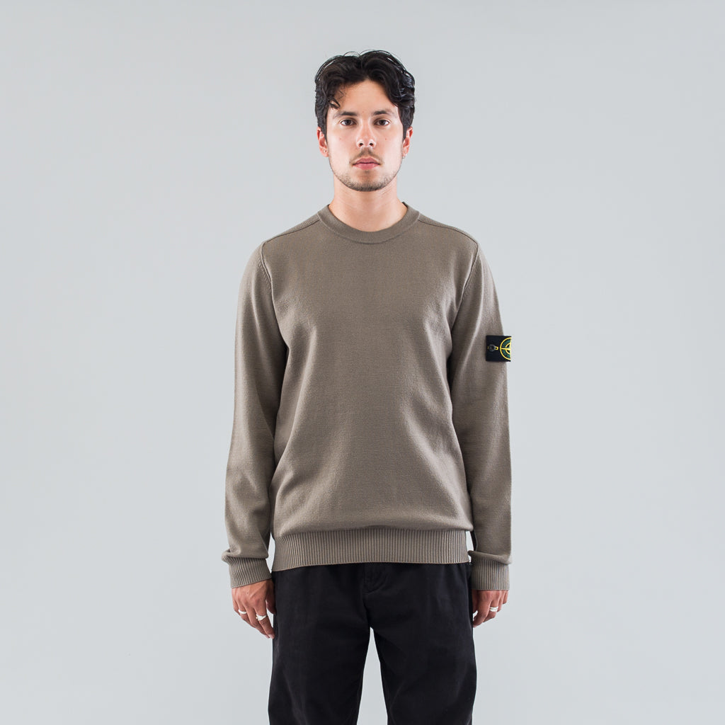MILITARY SWEATER - MUD