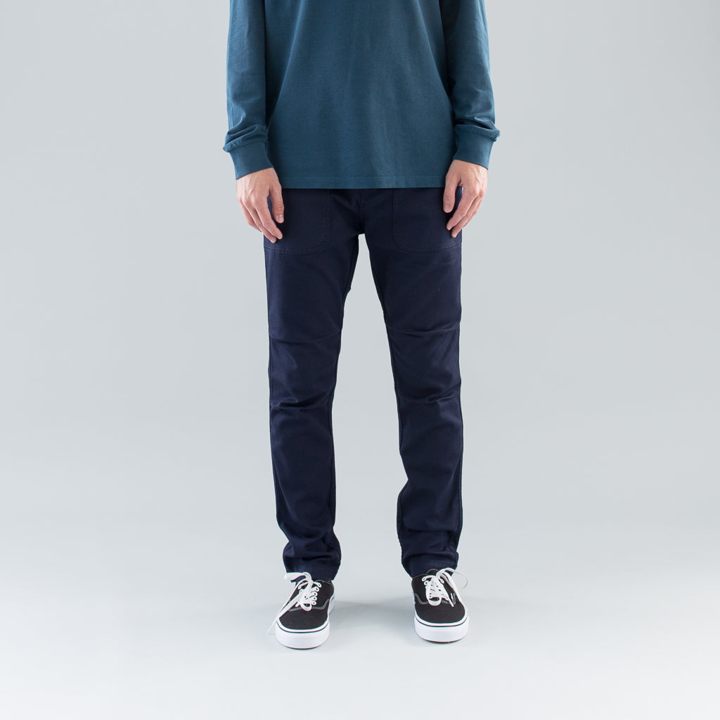 TWILL WORK PANT - INK