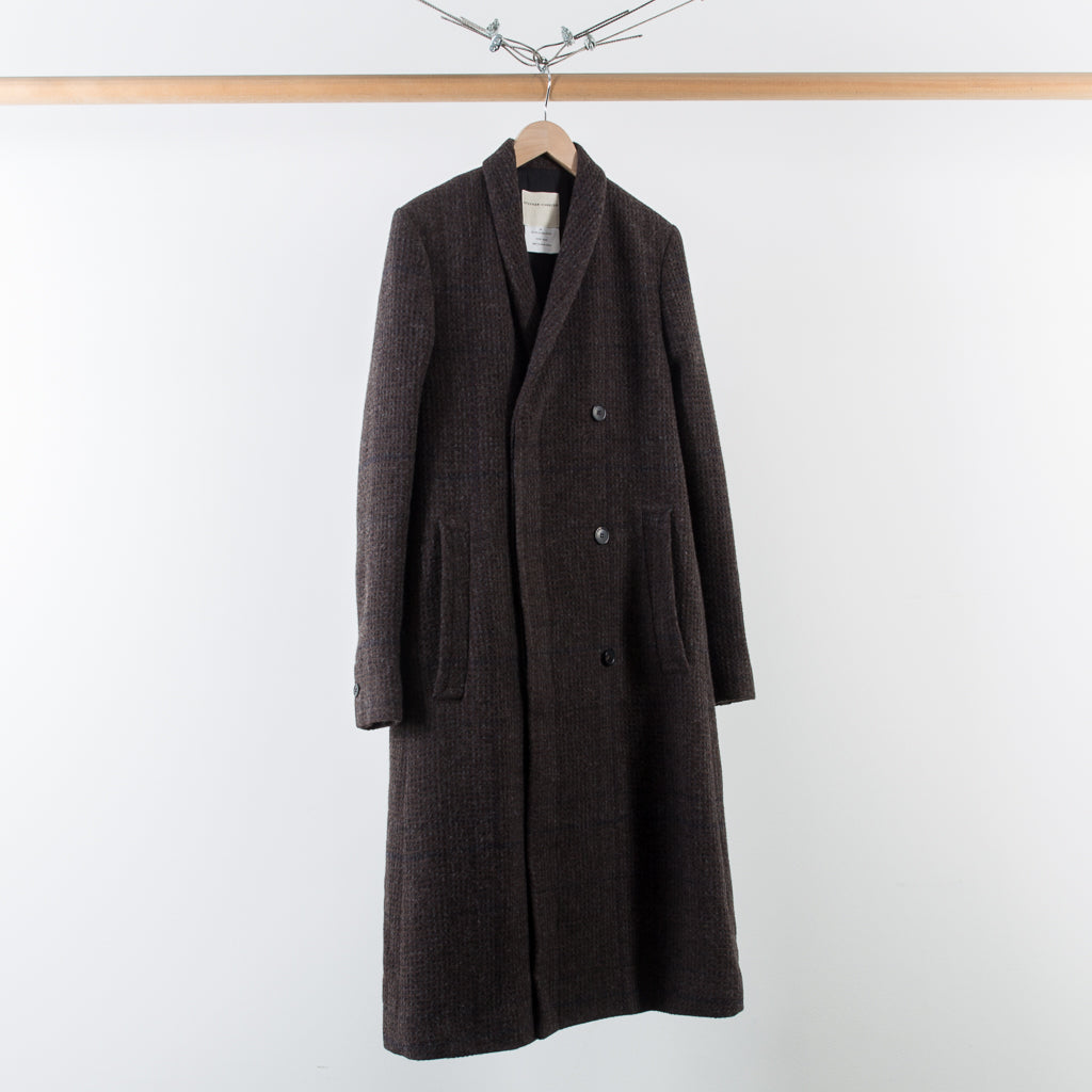 ARCHIVE SALE - STEPHAN SCHNEIDER - COAT REALIST BROWN