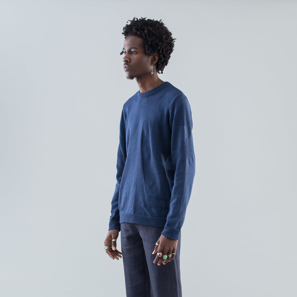JUMPER ALLEGORY - BLUE