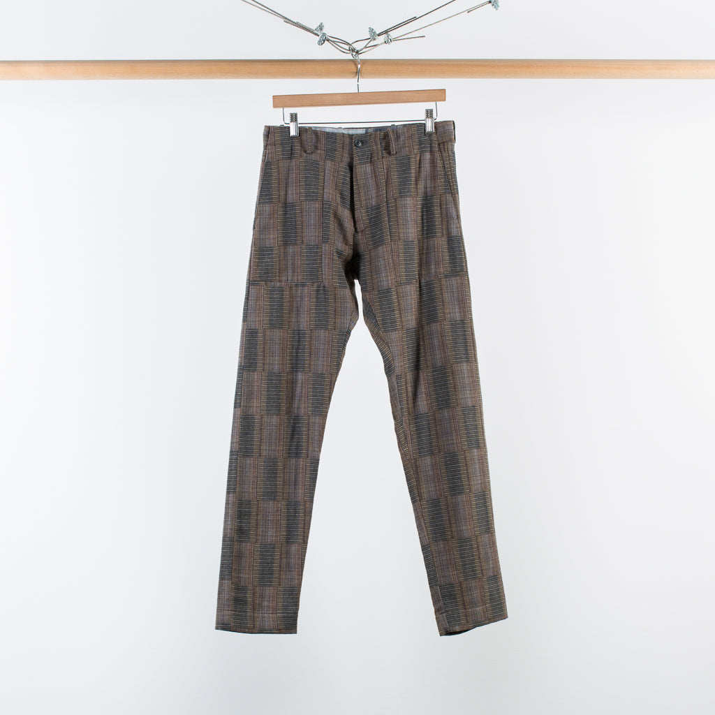ARCHIVE SALE - STEPHAN SCHNEIDER - TROUSERS PROMINENT KHAKI MIX