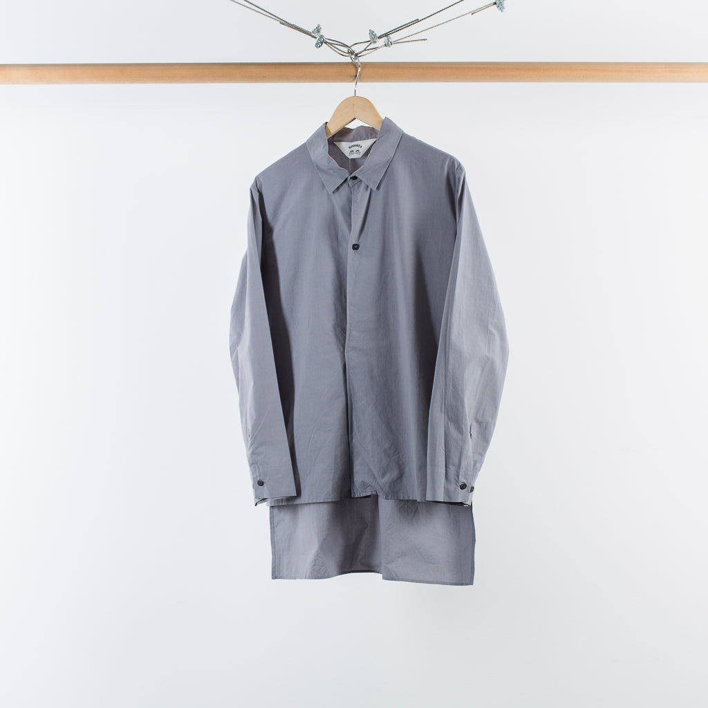 MAGNET LONG TAIL SHIRT GREY