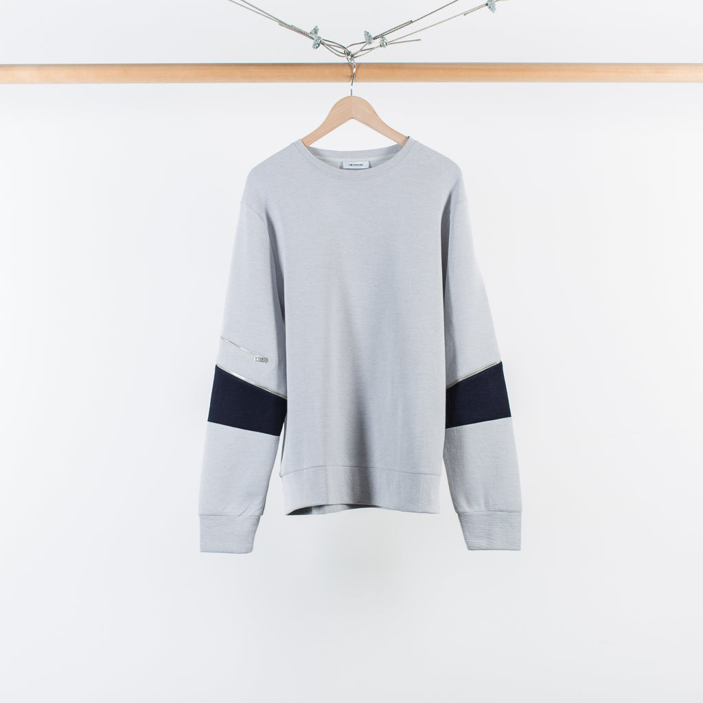 ARCHIVE SALE - TIM COPPENS - ZIPPER CREW GREY