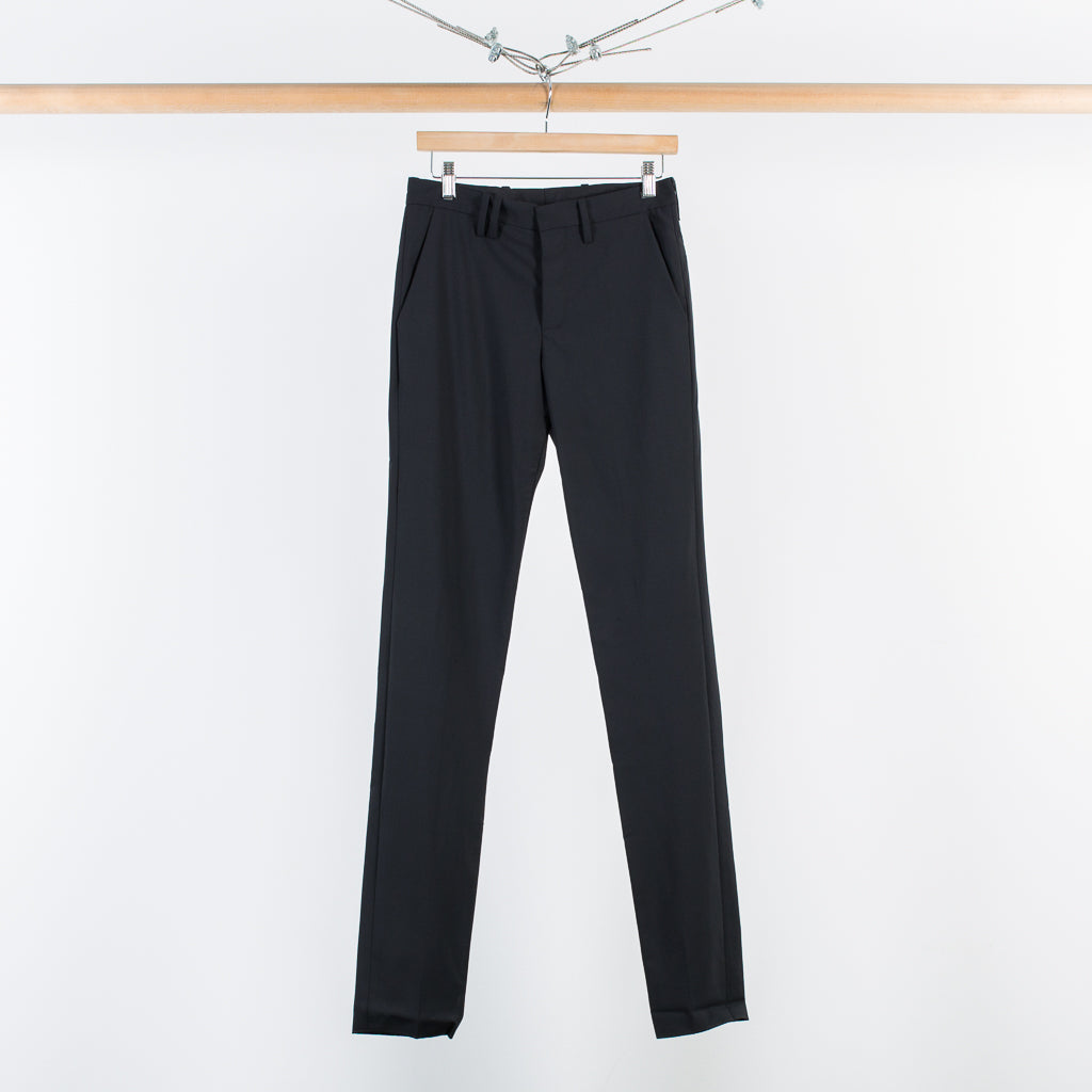 ARCHIVE SALE - TIM COPPENS - NARROW FIT DRESS TROUSER BLACK