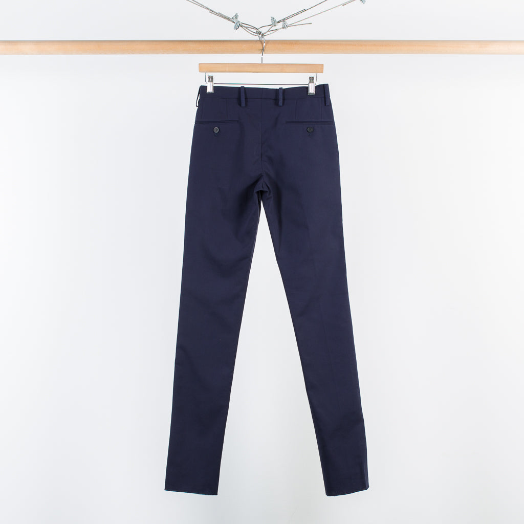 ARCHIVE SALE - TIM COPPENS - NARROW FIT DRESS TROUSER NAVY