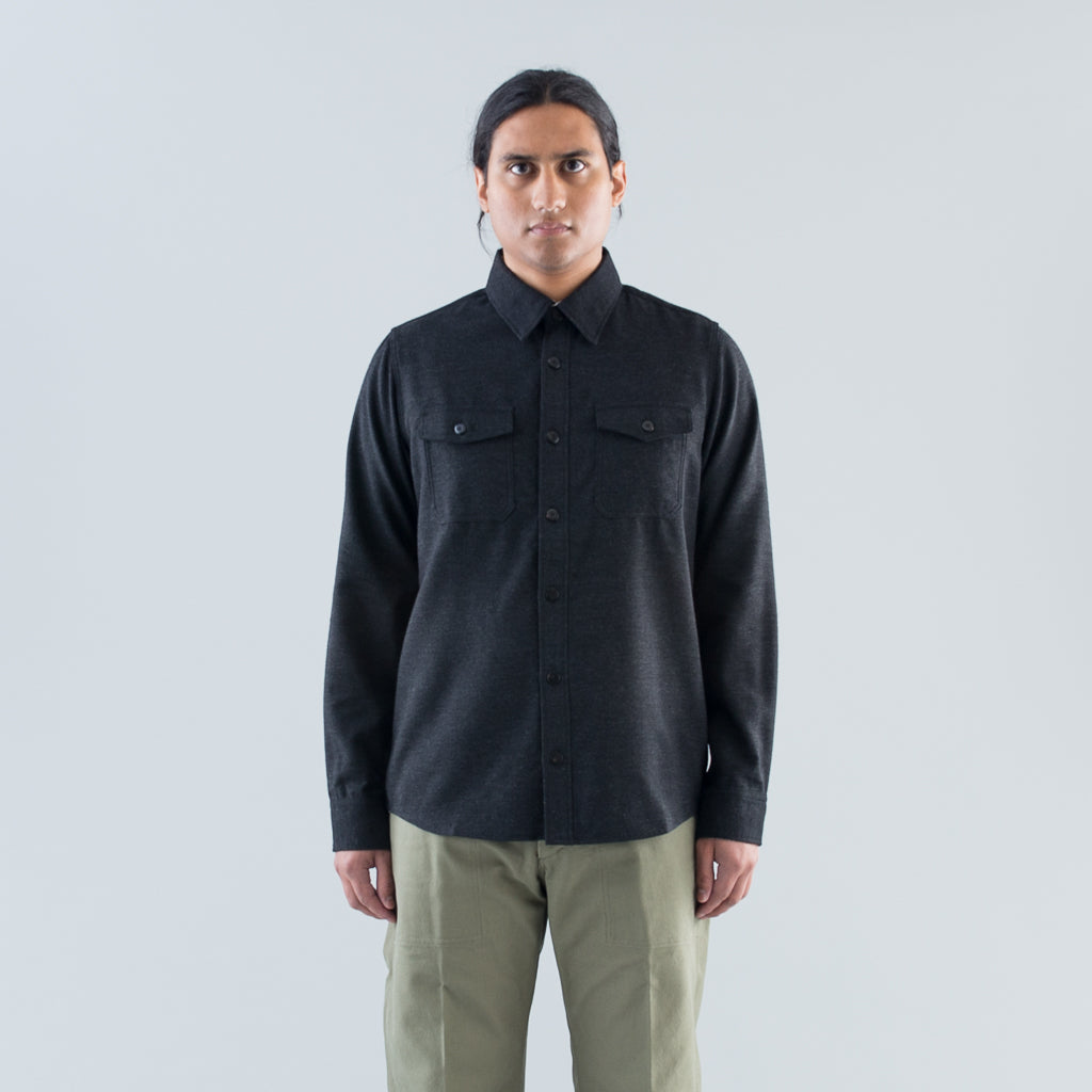 BLACK ELK SHIRT NELL (W/LI) - BLACK