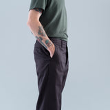 CHINO PANTS (GIZA) - BLACK