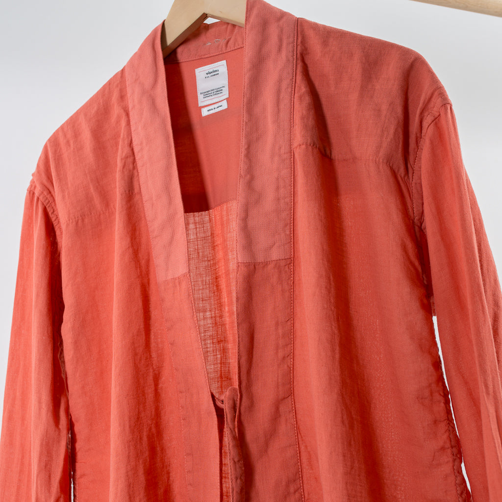 ARCHIVE SALE - VISVIM - LHAMO SHIRT (LI), ORANGE