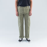 TRADE WIND PANTS (CANVAS) - OLIVE