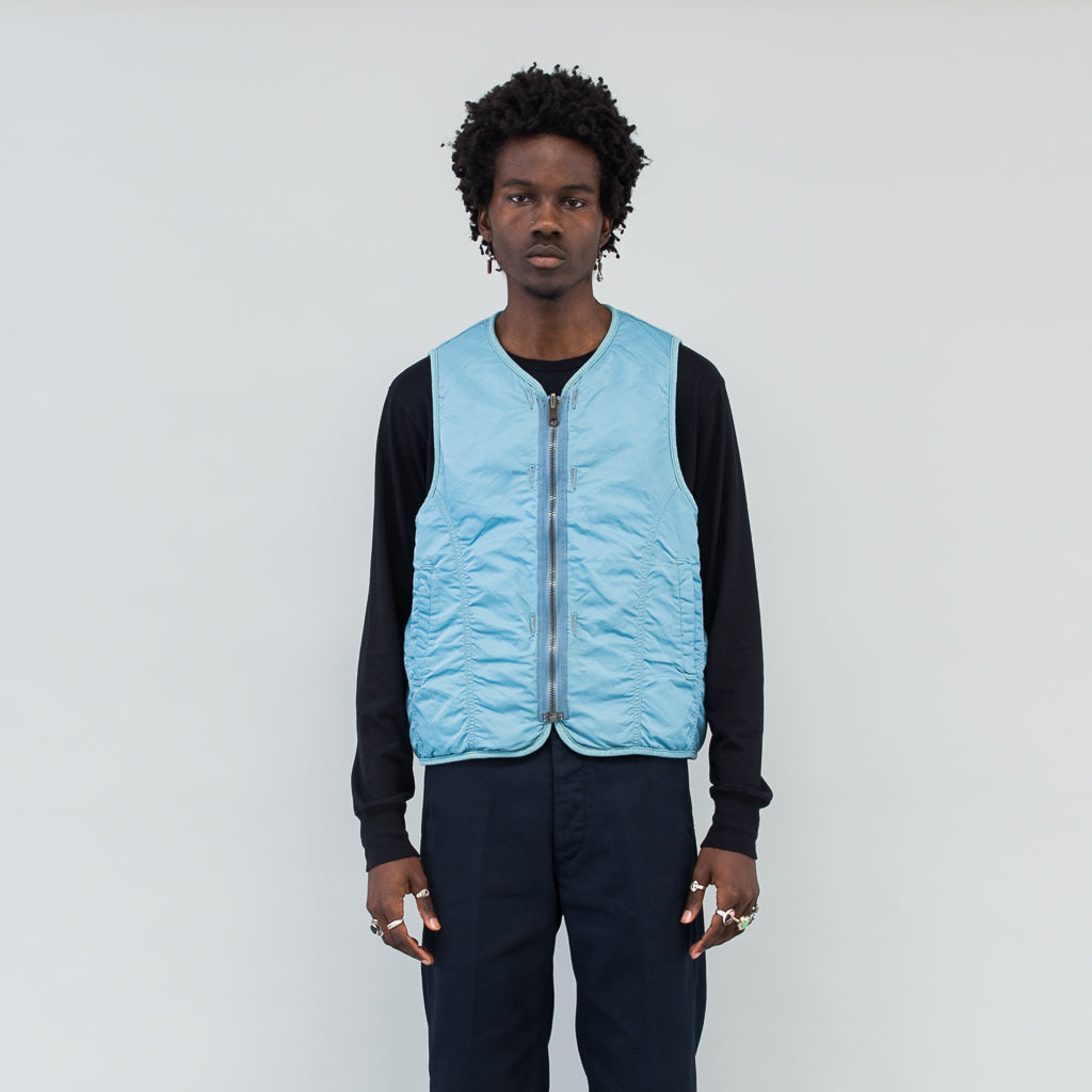 IRIS LINER VEST - LIGHT BLUE