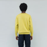JUMBO SWEAT L/S (VEGGIE DYE) - YELLOW