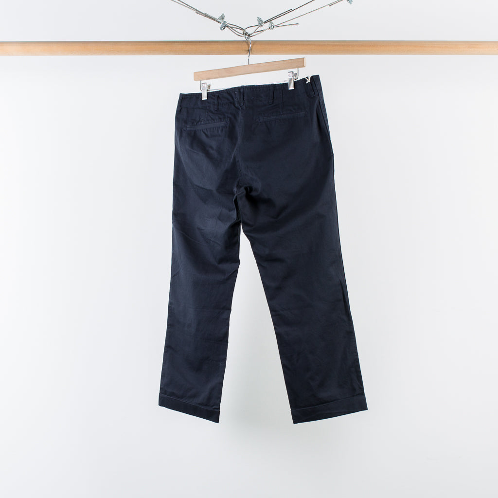 ARCHIVE SALE - WINGS + HORNS - WESTPOINT CROPPED CHINO NAVY