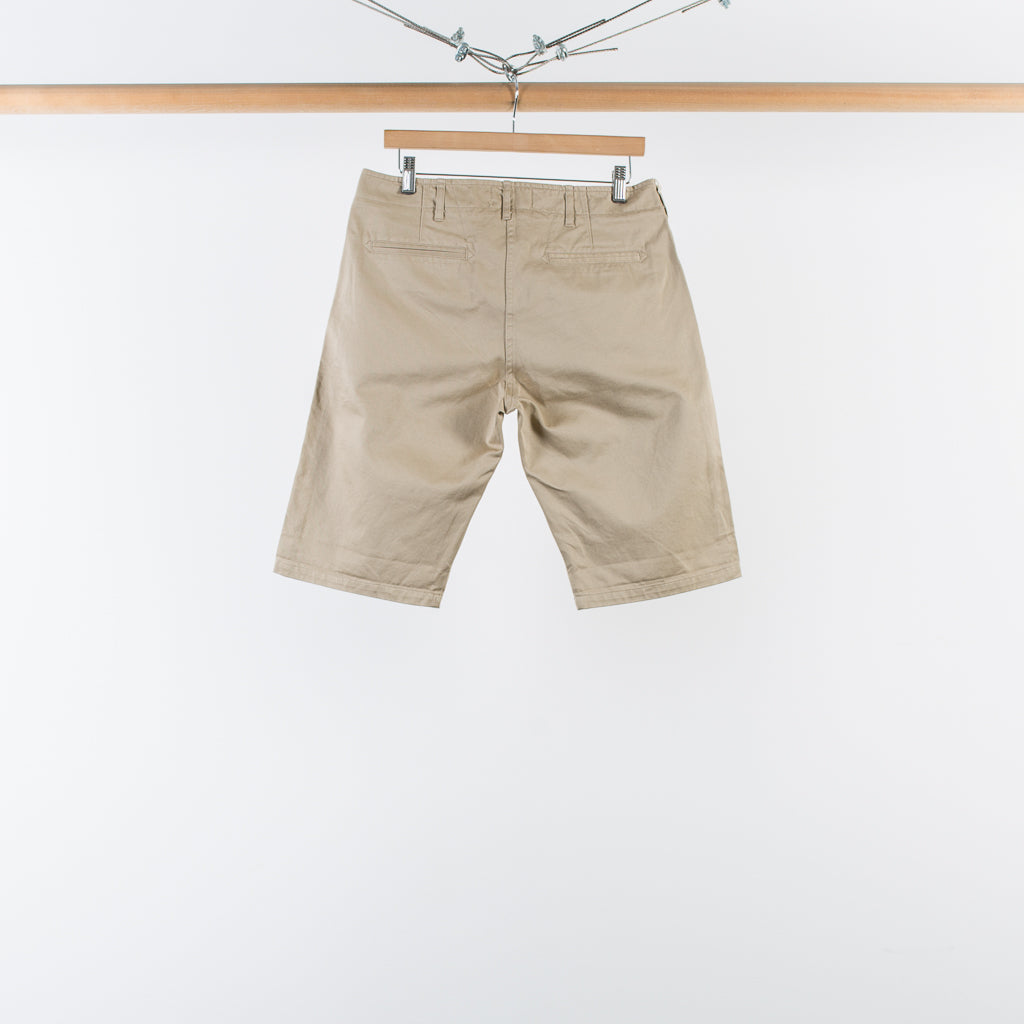 ARCHIVE SALE - WINGS + HORNS - WESTPOINT CHINO SHORTS TAN