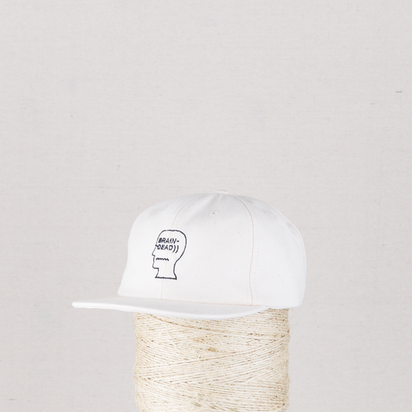 Herringbone Logo Hat - Natural