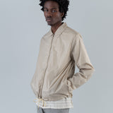 SHANE TECHNICAL COACH JACKET - MIST GREY