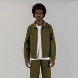 CORP JACKET RECYCLED + BIO - OLIVE