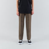 CLASSIC TROUSERS - BROWN WOOL