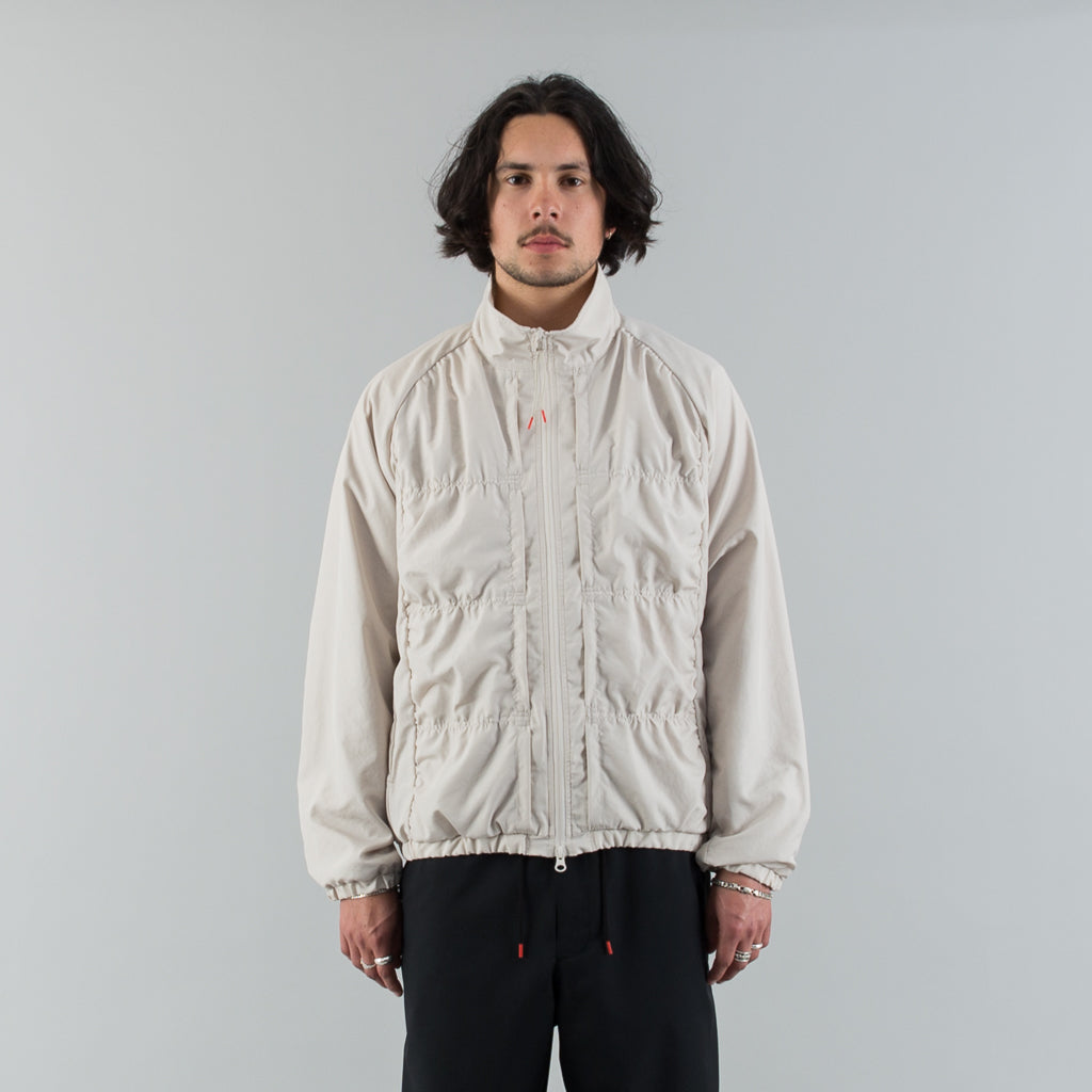 POCKET BLOUSON - GREIGE