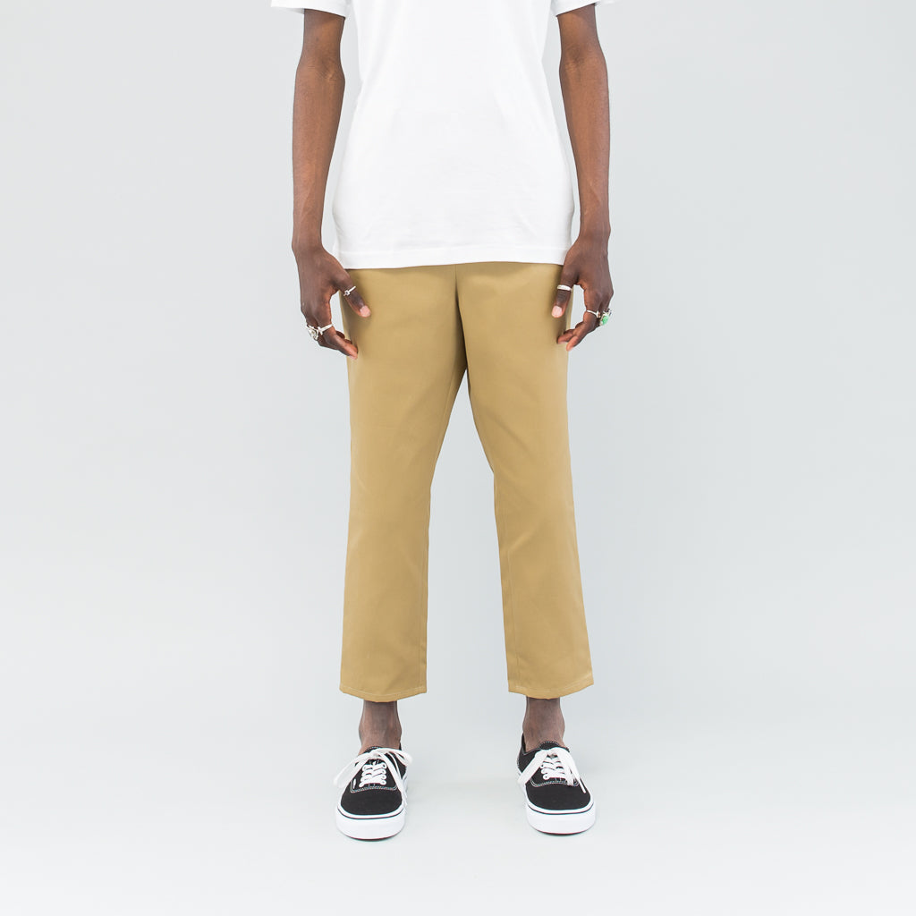 TAPERED PANTS - CAMEL