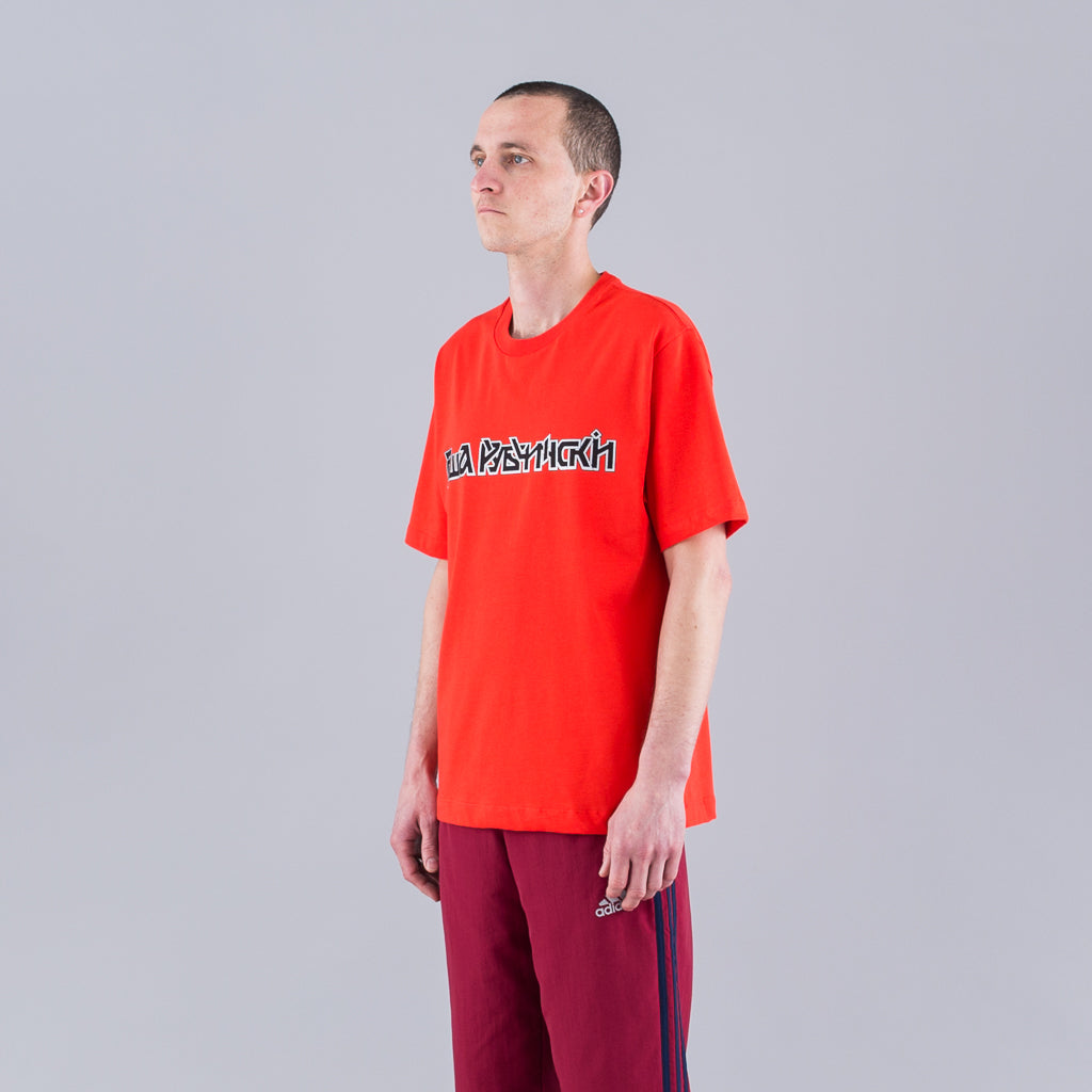 LOGO T-SHIRT - RED
