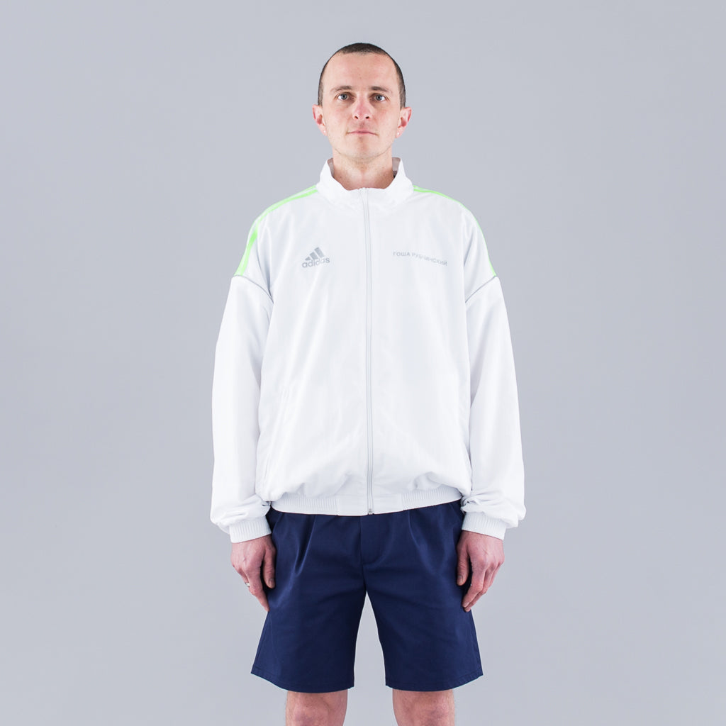 ADIDAS TRACK TOP - WHITE