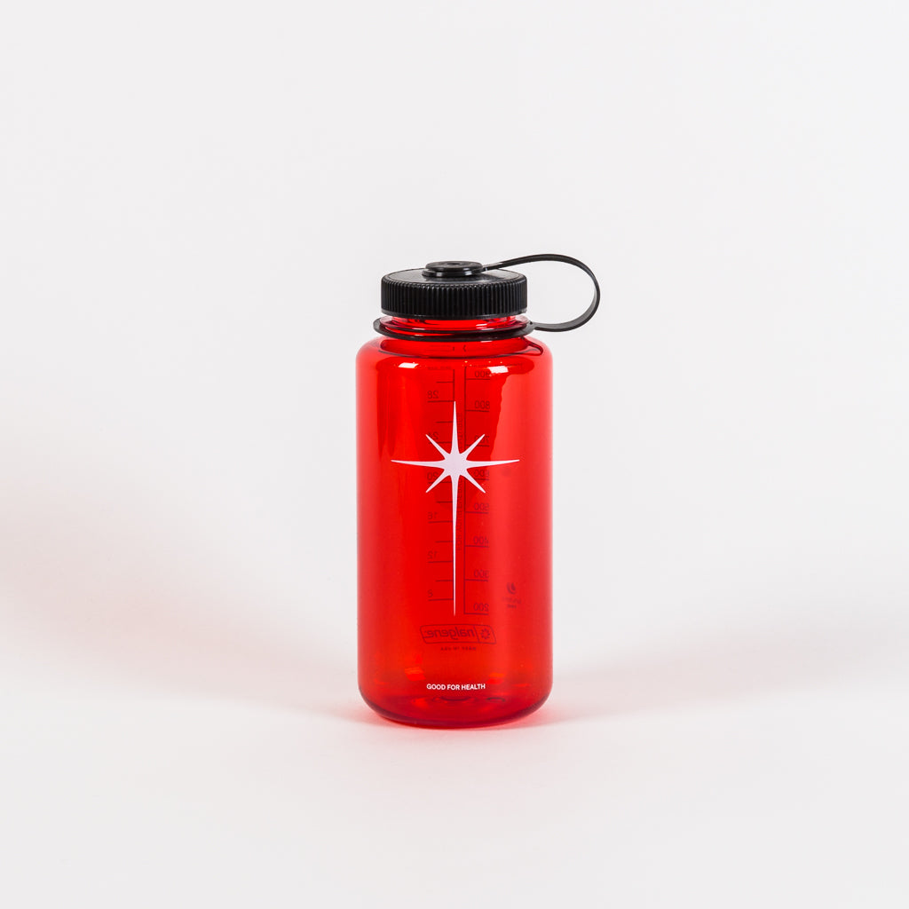 SHINING STAR NALGENE 1L BOTTLE - RED